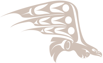 Qwuloolt Estuary Restoration Project of the Tulalip Tribes - Eagle in Flight Art